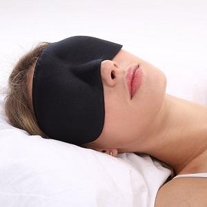 plemo masque des yeux occultant ultra doux anti fatigu avec deux trou ne colle pas aux. Black Bedroom Furniture Sets. Home Design Ideas