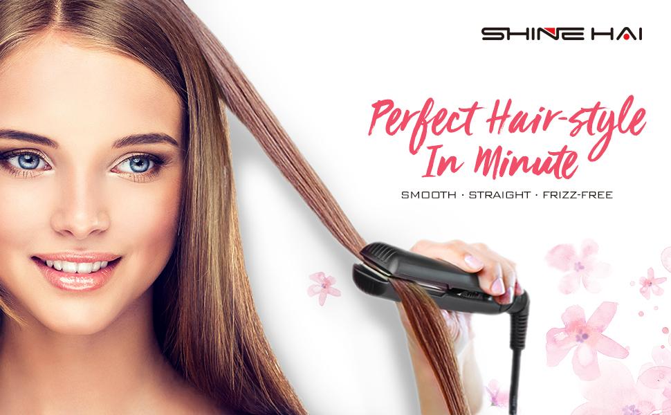 Shine Hai Hair Straighteners 230 Professional Ceramic