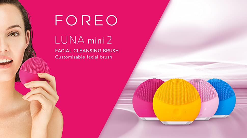 foreo luna mini 2 facial cleansing brush sunflower yellow beauty. Black Bedroom Furniture Sets. Home Design Ideas