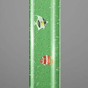 Large Colour Changing LED Novelty Sensory Mood Bubble Fish ...