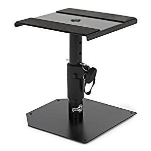Desktop Monitor Speaker Stands By Gear4music Pair Amazon Co Uk