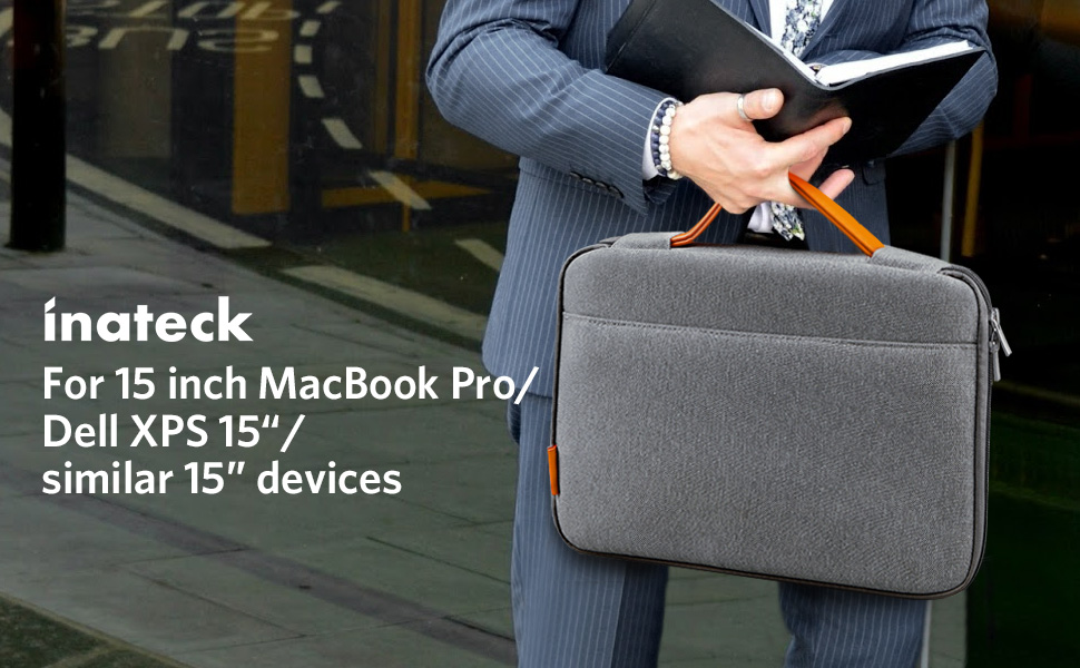 This Inateck LB1500B Is Well Compatible With 15 Inch MacBook Pro And Retina Fit For Dell XPS Also It Suitable Most 14 Laptops