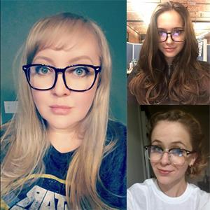 Rimless Glasses Headache : Cyxus Blue Light Filter Semi-rimless Glasses, [Transparent ...