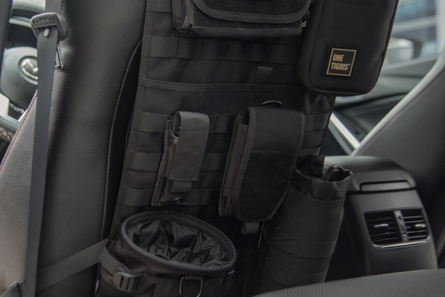 Onetigris Car Seat Back Organizer Tactical Molle Vehicle