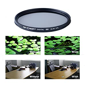 k f concept 67mm objektiv filterset nd2 nd4 nd8 filter 67mm uv fld cpl filter ebay. Black Bedroom Furniture Sets. Home Design Ideas