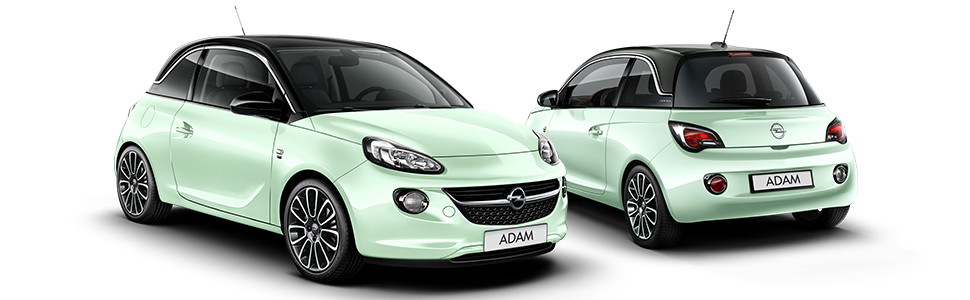reservierung opel adam germany s next topmodel 1 2 51 kw 70 ps mint green leasinganfrage. Black Bedroom Furniture Sets. Home Design Ideas