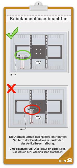 Ricoo wandhalterung tv schwenkbar neigbar r06 universal - Flachbildfernseher wandmontage ...