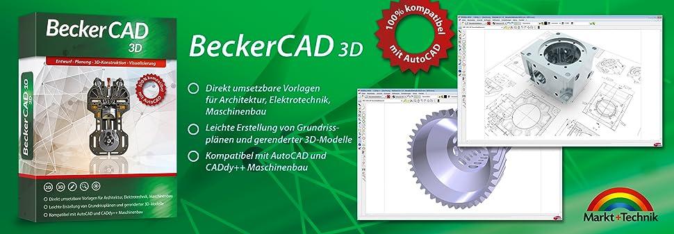 becker cad 10 3d software. Black Bedroom Furniture Sets. Home Design Ideas
