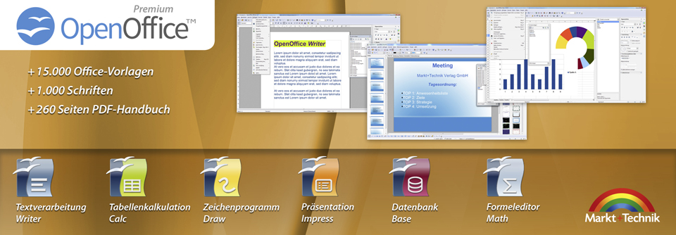 Open Office Premium Edition Cd Dvd 100 Kompatibel Zu Microsoft