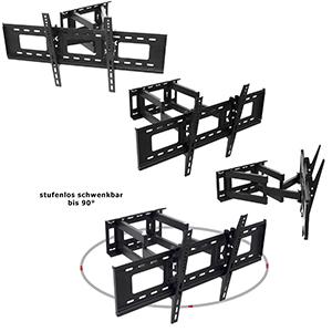 mounty tv wandhalterung my153 schwenkbar neigbar elektronik. Black Bedroom Furniture Sets. Home Design Ideas