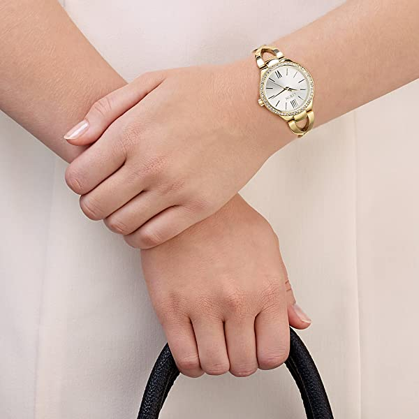 Christ Times 86474115 – Uhr für Frauen, Edelstahl-Armband