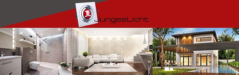Ultra Flacher Nur 5,5cm Badezimmer Einbaustrahler Out IP65 ...