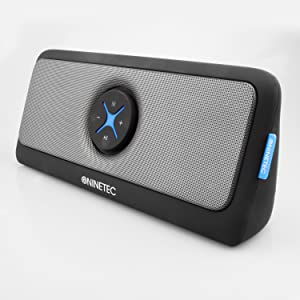 ninetec xoomia 30 watt home bluetooth usb aux speaker. Black Bedroom Furniture Sets. Home Design Ideas