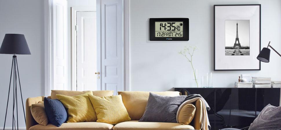 Digitale funkuhr wohnzimmer - Wohnzimmer funkuhr ...