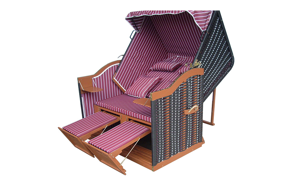 xinro strandkorb xxl g nstig f r balkon und. Black Bedroom Furniture Sets. Home Design Ideas