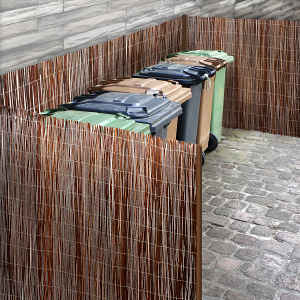 casa pura sichtschutz weidenzaunmatten gr e w hlbar 200x300cm. Black Bedroom Furniture Sets. Home Design Ideas