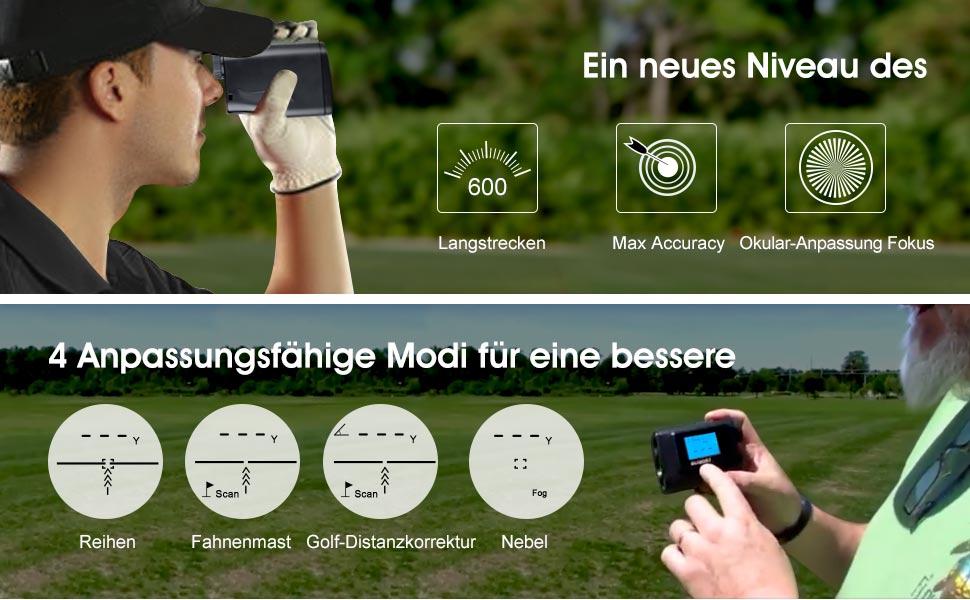 Tacklife Entfernungsmesser Unterschied : Suaoki 600m golf entfernungsmesser laser: amazon.de: kamera