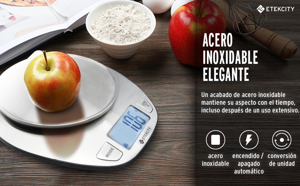 Etekcity ek4352h b scula electr nica multifuncional para for Bascula cocina amazon