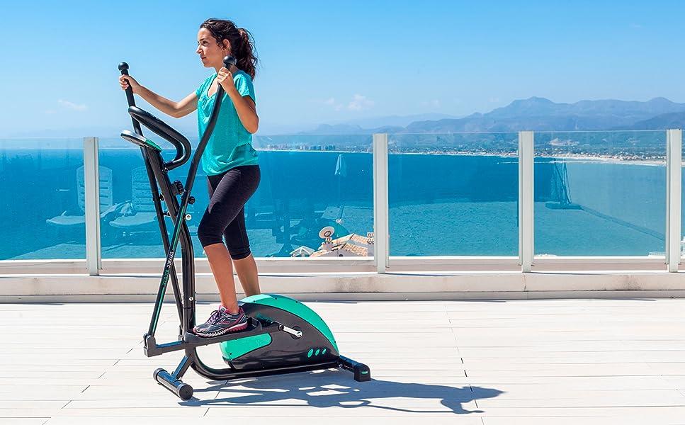 La bicicleta ElipticFit es perfecta para su uso doméstico y profesional. Ocupa poco espacio y posee un diseño ergonómico. Mejorará tu salud y combinando el ...