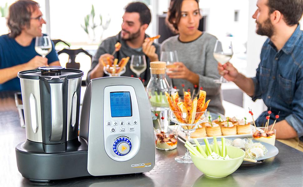 Robot de cocina cecotec cecomix plus hogar - Cecomix opiniones ...