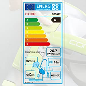 Cecotec Aspirador Trineo Conga Multiciclonic. Sin Bolsa, Potente, Silencioso, Eficiencia energética A, Máxima Potencia de Succión, Gran Capacidad 35L, Filtros HEPA.: Amazon.es: Hogar