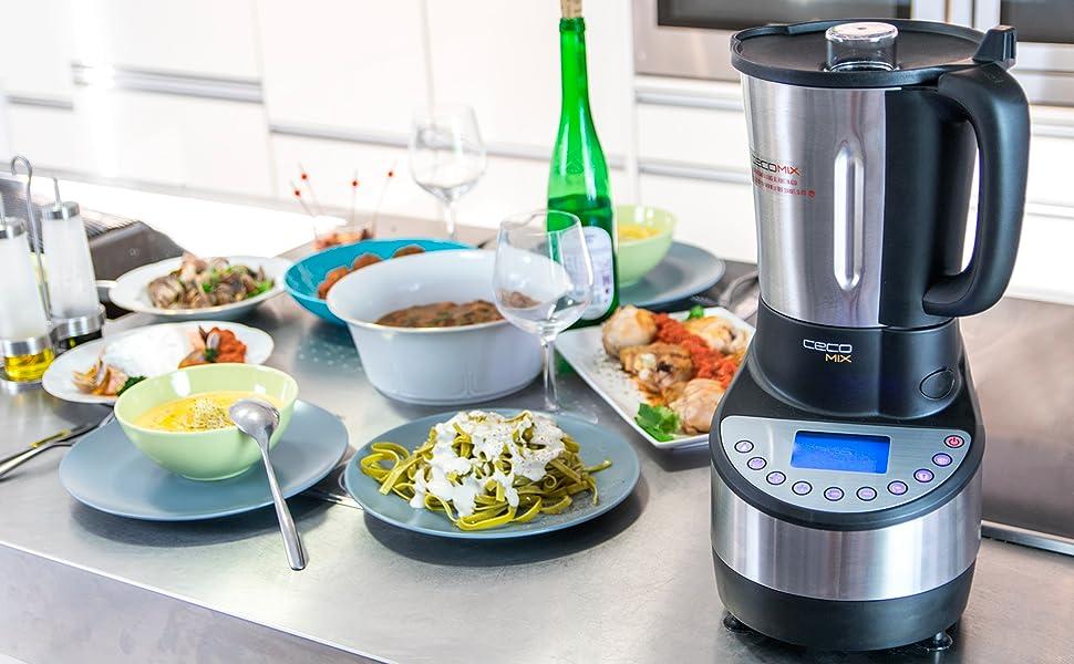 Robot de cocina con capacidad de 3,3 litros y hasta 21 funciones. 10 ...
