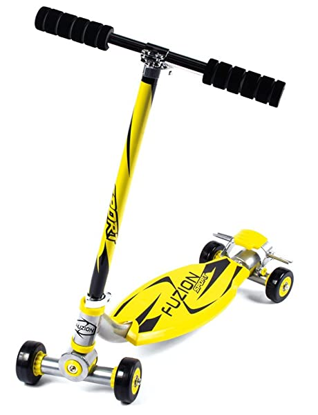 City Scooter Fuzion Sport Yellow (1)