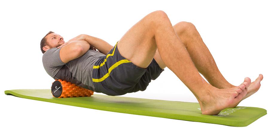 La colchoneta ideal para ejercicios de rehabilitación deportiva debido grosor y suavidad. La colchoneta de #DoYourFitness »Yamuna«