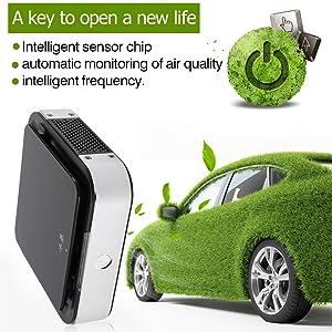 Amazon | LESHP アニオン空気浄化機 3M静電吸着 四つのオートモード ...