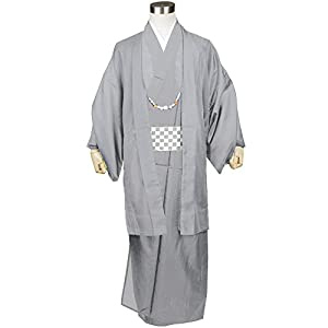 KYOETSU 駒絽生地 /(キョウエツ/) レディース洗える夏着物 無地 単衣 仕立て上がり
