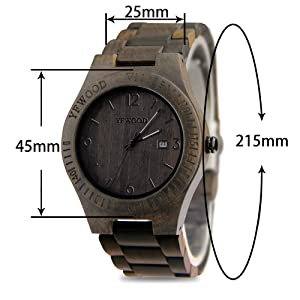 7c1732387c 「謙虚さや慎しみの美徳の中にも、洗練されたお洒落と優雅さ」を理念に、どんな場面で持っても恥ずかしくないおしゃれな木製腕時計。