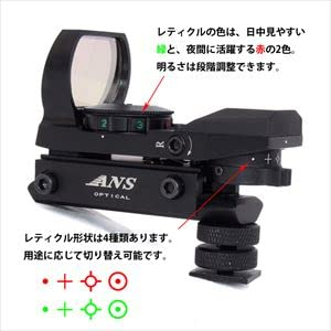 カメラ用ドットサイト