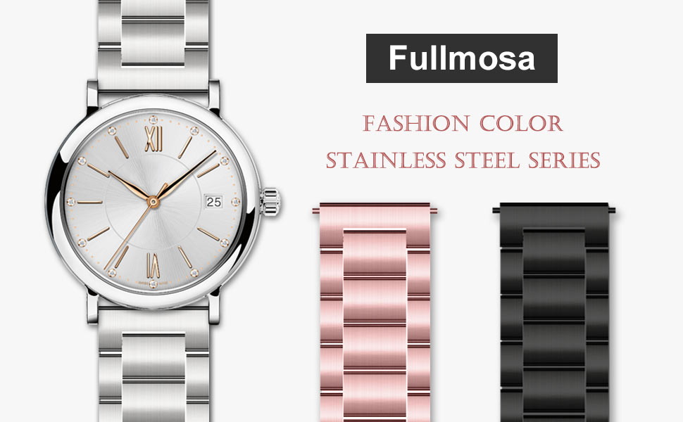 34e012202a 適合:Fullmosa交換バンドはほとんどの伝統的な腕時計、またスマートウォッチとも互換性があります。ご購入前、正しいサイズをご選択ください。お手持ちの定規を使用し  ...