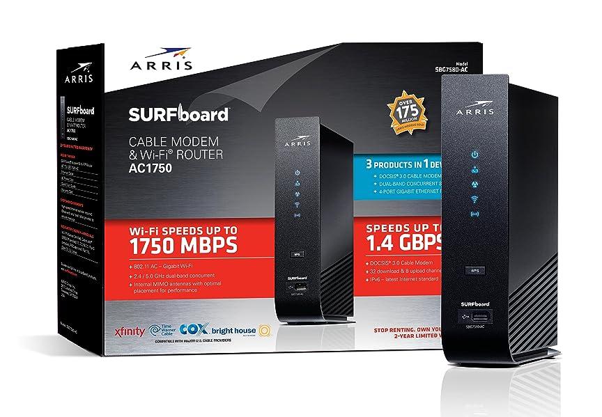 amazon arris surfboard sb6190 docsis 3 0 cable modem retail