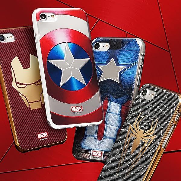 Amazon Marvel Design スマートフォンケース アベンジャーズ