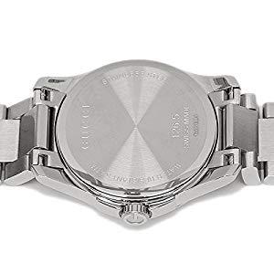 33766f395c71 GUCCIの腕時計が登場しました。シンプルでスタイリッシュなデザイン。文字盤に施された繊細な装飾は女性らしい優しげな印象を与えてくれます。バックルはワンプッシュ  ...