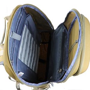アールアンドアールコレクションズ Black R R Collections レディース & 【Canvas Backpack with Flap and 2 Side Pockets】 バックパック・リュック バッグ