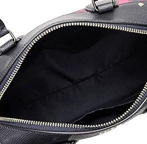 04c6a338bc08 バッグ内にはファスナーポケットとオープンポケットが一つずつ。 鍵やスマホを整理して収納でき、ものが乱雑にならないのが嬉しいポイント♪