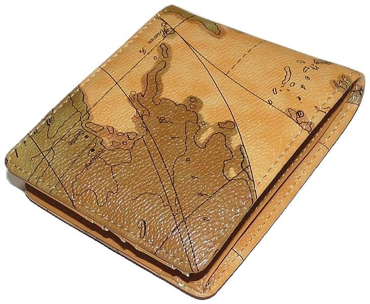 8578111b9090 Amazon.co.jp: あなただけのマップデザイン!世界地図柄短財布 [TRAVIS ...