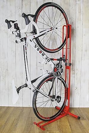 ) 室内用縦置き自転車スタンド ...
