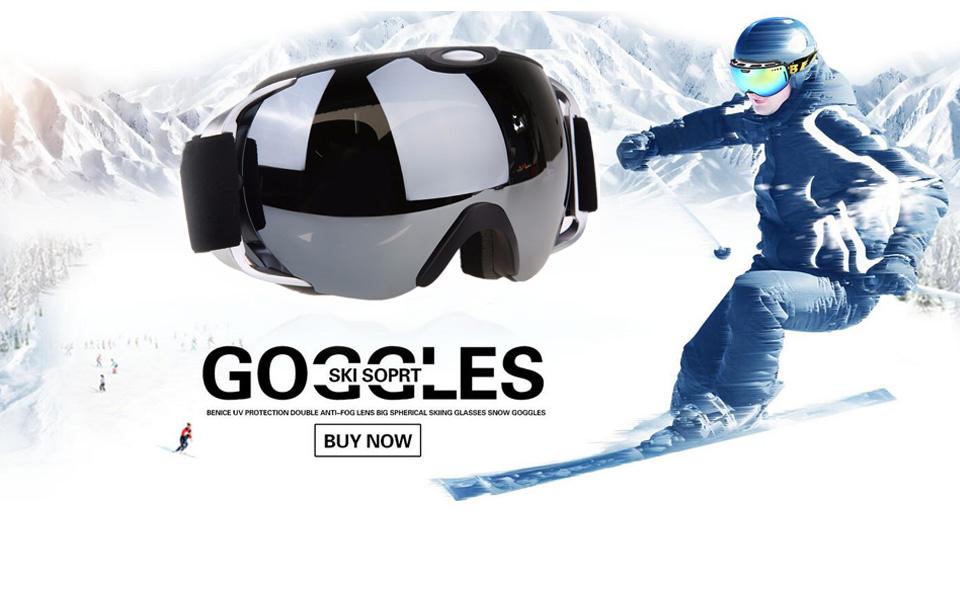 VILISUN スキーゴーグル スノボゴーグル REVOミラー・球面ダブルレンズ 紫外線カット メガネ対応 曇り止め 耐衝撃/防塵/防風/防雪 すべり止め 3層スポンジ スノーボード スキー・登山・アウトドア 子供 大人