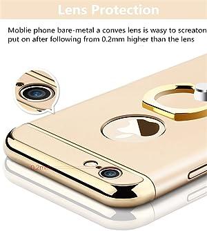 c84a0b420c Amazon | iPhone 6 Plus ケース(購入者特典:強化ガラス保護スクリーン ...