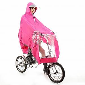 作った 自転車用 レインコート ...