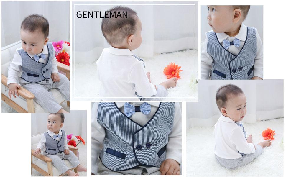 caadaf8dadff5 かっこいい男の子フォーマルロンパースで、初節句・お宮参り用・入園式 卒園式・七五三・結婚式・セレモニー・発表会・パーティー用におすすめ。