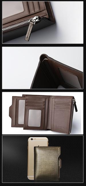 d09b9758a77e Amazon | Padieoe 長財布 二つ折り 財布 メンズ 本革 人気 ブランド ...