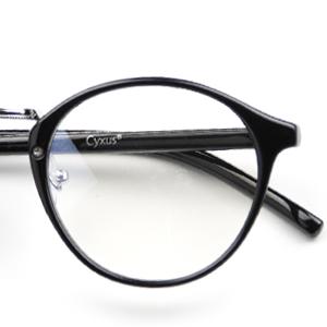 1c53641f24 Cyxus Retro Glasses Clear Lens
