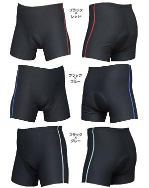 自転車の 自転車 パッド付きパンツ : パンツ(3Dゲルパッド付き ...