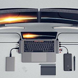 Amazon | Satechi Type-C アルミニウム Proハブ Macbook Pro 13/15インチ対応 ...