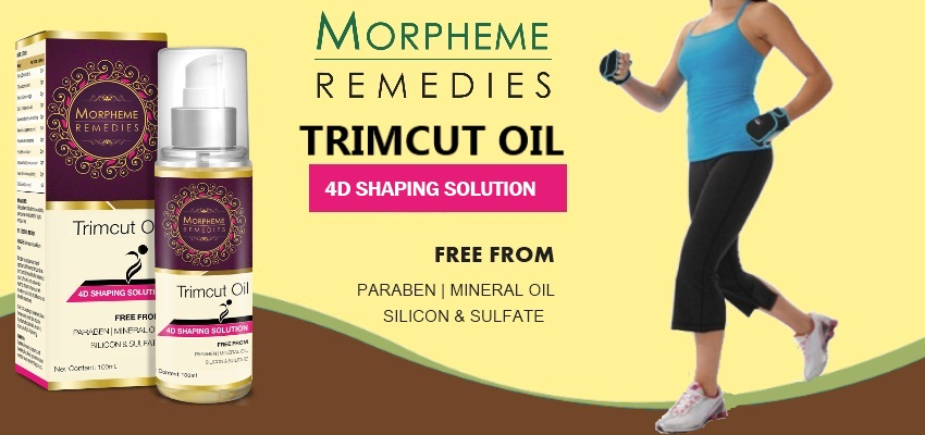 Morpheme Trimcut 4D Slimming Oil - 100ml (Thighs, Arms ...