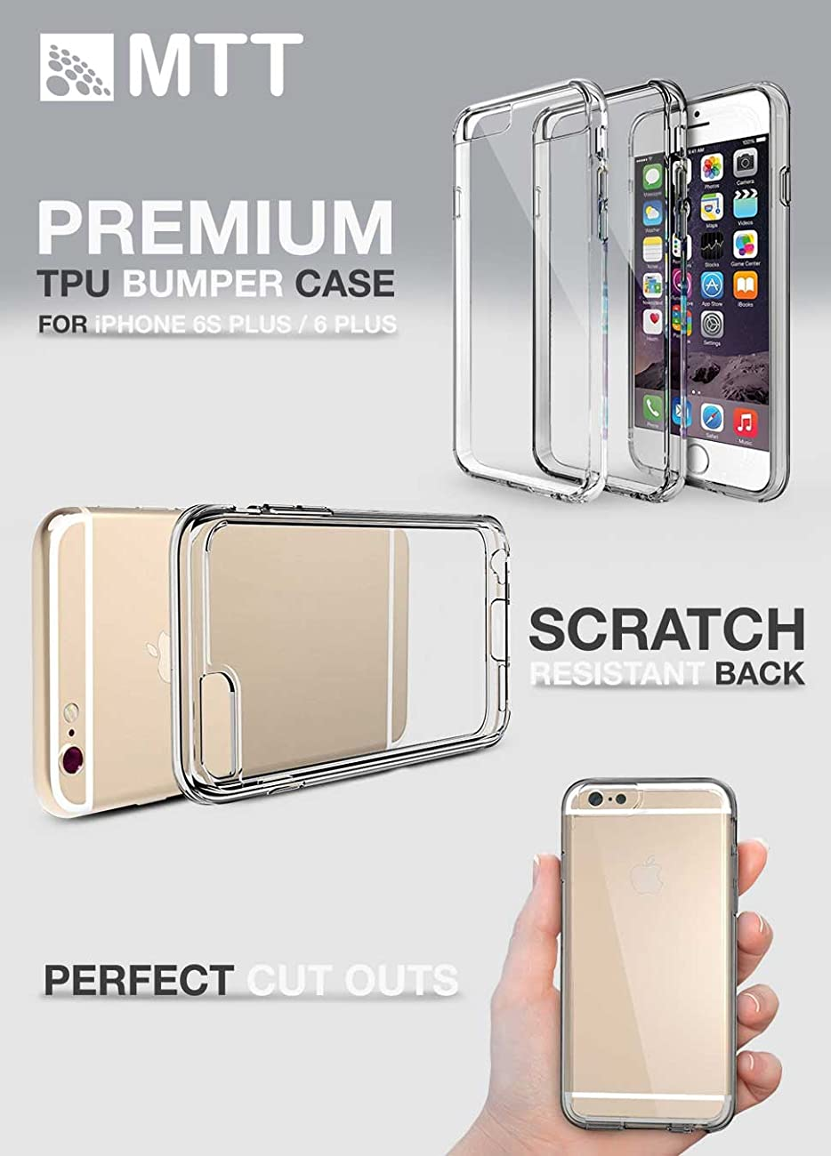 Mtt Shock Proof Bumper Transparent Case For Iphone 6s Clear Back Reveal Your Plus 6 With Ultra Body Which Reveals And Enhances The Original Color Design Of